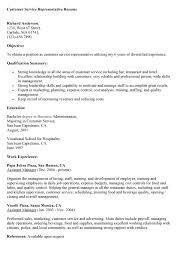 customer service representative description for resume 28 images