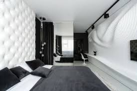 chambre moderne noir et blanc architecture appartement design chambre moderne appartement