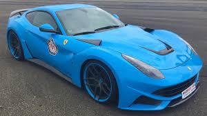 Ferrari F12 Drift - most insane ferrari f12 ever novitec rosso ferrari f12 n largo