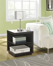 Accent End Table Ameriwood Furniture Fremont Accent Table Espresso