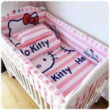Baby Bedding Set Baby Bed Set Bumper Cotton Beautiful Baby Bedding Set Pink Striped