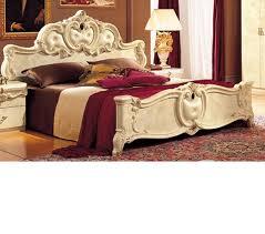 barocco bedroom set dreamfurniture com barocco ivory italian classic 5 piece bed set