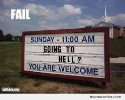 Church Sign Meme - church sign fail by ben meme center