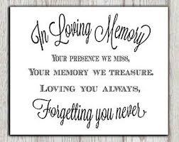 wedding keepsake quotes 25 best wedding memorial table ideas on wedding
