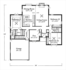 Floor Plan With Garage by Fresh Inspiration 12 1400 Square Foot Craftsman Style House Plans