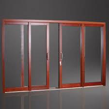 Aluminum Clad Exterior Doors Aluminum Clad Wood Sliding Door For Warm Feeling Global Sources