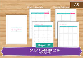 daily planner pdf free a5 daily planner 2016 pdf everyday planner calendar 2016