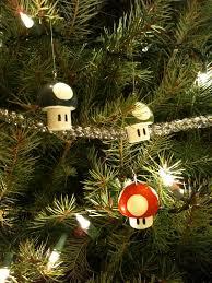 decoração natal geek e nerd cogumelos mario christmas ornaments
