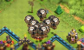 balloons guide clash of clans land