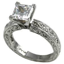 cubic zirconia engagement rings white gold 14k gold cz cubic zirconia rings antique style engagement ring