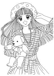 20 best manga chicas images on pinterest coloring books