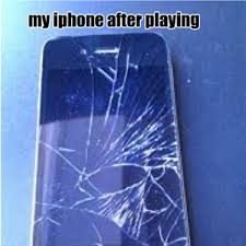 broken iphone thanks to flappy bird by fares17449 meme center