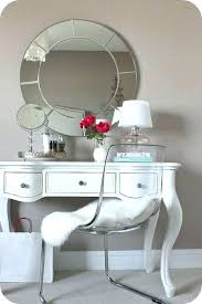 cheap white vanity desk ghost chair vanity vanity table chair mirror for the small desk in