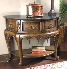 Half Circle Accent Table Half Circle Console Table Freem Co