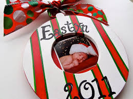 picturesque personalized engraved wood ornament personalized gift