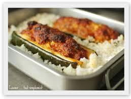 cuisiner courgette courgette farcie au chorizo cuisiner tout simplement le