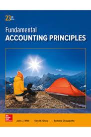 solution manual for fundamental accounting principles 23rd edition