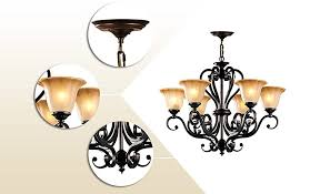 Traditional Chandelier Lnc 6 Light Traditional Chandeliers Antique Black Iron Pendant