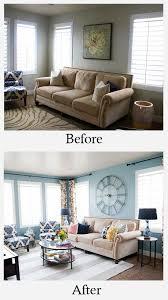 livingroom makeover best 25 living room makeovers ideas on fireplace