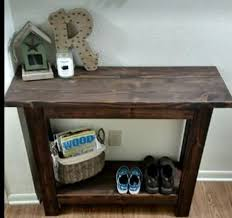 The Changing Table Okc Rustic Farmhouse Style Entry Sofa Table Furniture In Oklahoma