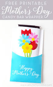 free printable mother u0027s day candy bar wrapper artsy fartsy mama