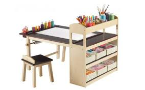 Diy Craft Desk With Storage Etikaprojects Do It Yourself Project