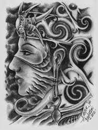 download tato batik sur real dayak girl by sylvesterjuli on deviantart