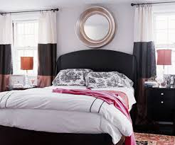 Black Upholstered Headboard Modern Furniture Stylish Upholstered Headboards Decorating Ideas 2012