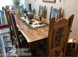 southwestern dining room furniture southwestern solid wood custom furniture southwest furniture by swsf