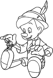 pinocchio coloring pages wecoloringpage