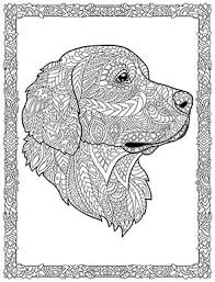 631 Best Adult Colouring Cats Dogs Zentangles Images On Coloring Page Dogs