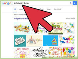 Birthday Card Print How To Print Birthday Cards Off The Internet 4 Steps