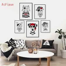 Retro Living Room Art Online Get Cheap Vintage Cat Art Aliexpress Com Alibaba Group