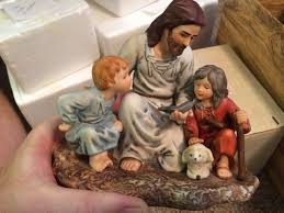 home interior jesus figurines homco home interior figurines collection on ebay