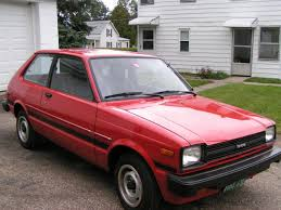 toyota starlet kidney anyone 2500 mile 1982 toyota starlet japanese nostalgic car