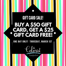 gift card sale special gift card sale the colorist hair salon cleveland