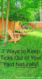 7 ways to keep ticks out of your yard naturally yards gardens