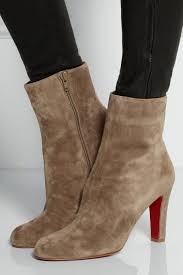 christian louboutin miss tack suede ankle boots best replica