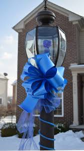 blue support ribbon residents asked to display blue ribbons in support of safety