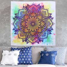 100 home decor tapestry ombre wall hanging home decor