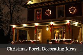 Christmas Decorations For Porch Columns by Christmas Door Decorating Ideas