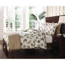 seashells comforter u0026 quilt bed set with shams christmas tree