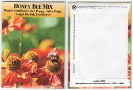 flower seed packets bee mix flower seed packets blank
