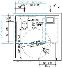 bathroom design dimensions ada bathroom dimensions magnificent ada bathroom design home