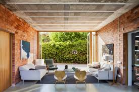 Brick Home Designs Living Rooms With Exposed Brick Walls