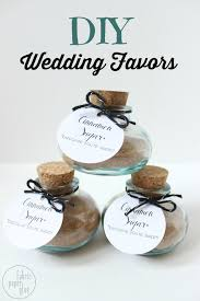 diy wedding favors for nuptial celebrations blissfully