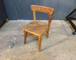 chaise vintage enfant chaise enfant mobilier industriel produits style industriel et