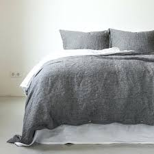 Catherine Lansfield Duvet Covers Catherine Lansfield Universal Charcoal Duvet Cover Set King Linen