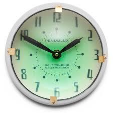 orbit wall clock u2014 pendulux