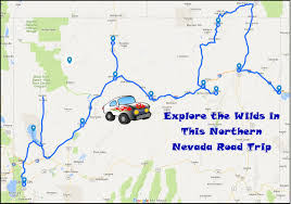 Black Rock Desert Map Explore The Wilds With This Northern Nevada Road Trip Only In